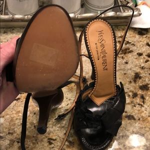 Yvette Saint Laurent black heels 37 NEW Tom Ford!